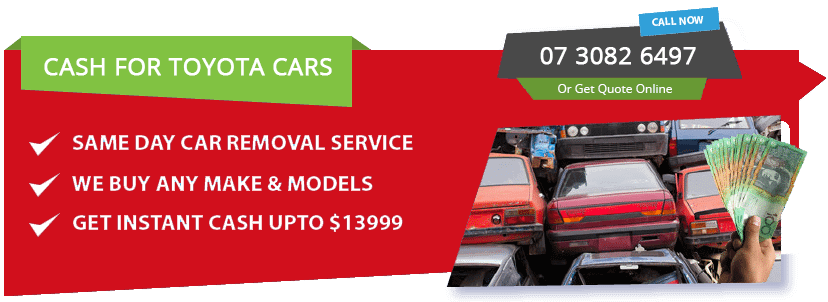 Sell your Toyota Car Brisbane